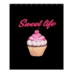 Sweet Life Shower Curtain 60  X 72  (medium)  by Valentinaart