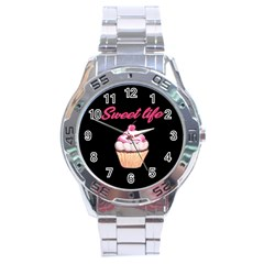 Sweet Life Stainless Steel Analogue Watch by Valentinaart