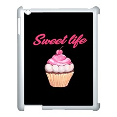 Sweet Life Apple Ipad 3/4 Case (white) by Valentinaart