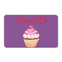 Sweet Life Magnet (rectangular) by Valentinaart