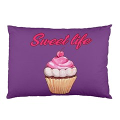 Sweet Life Pillow Case by Valentinaart