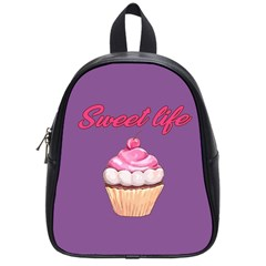 Sweet Life School Bags (small)  by Valentinaart