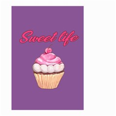 Sweet Life Small Garden Flag (two Sides) by Valentinaart