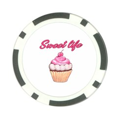 Sweet Life Poker Chip Card Guard (10 Pack)