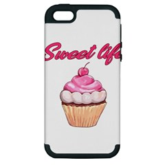 Sweet Life Apple Iphone 5 Hardshell Case (pc+silicone)