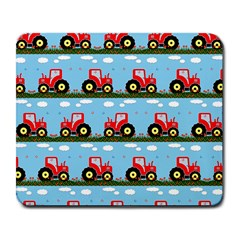 Toy Tractor Pattern Large Mousepads by linceazul