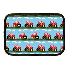 Toy Tractor Pattern Netbook Case (medium)  by linceazul
