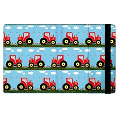 Toy Tractor Pattern Apple Ipad 3/4 Flip Case by linceazul
