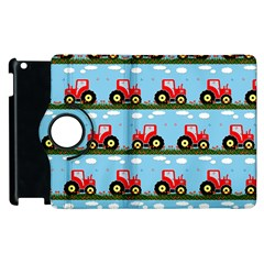 Toy Tractor Pattern Apple Ipad 3/4 Flip 360 Case by linceazul