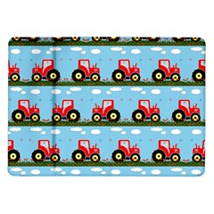 Toy Tractor Pattern Samsung Galaxy Tab 10 1  P7500 Flip Case by linceazul