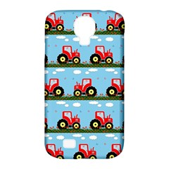 Toy Tractor Pattern Samsung Galaxy S4 Classic Hardshell Case (pc+silicone) by linceazul