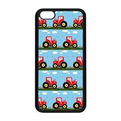 Toy Tractor Pattern Apple Iphone 5c Seamless Case (black) by linceazul