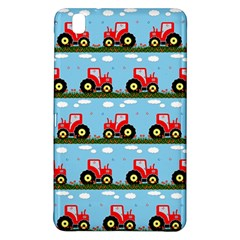 Toy Tractor Pattern Samsung Galaxy Tab Pro 8 4 Hardshell Case by linceazul
