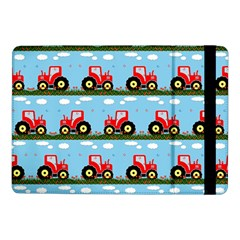Toy Tractor Pattern Samsung Galaxy Tab Pro 10 1  Flip Case by linceazul