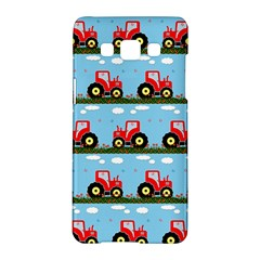 Toy Tractor Pattern Samsung Galaxy A5 Hardshell Case  by linceazul