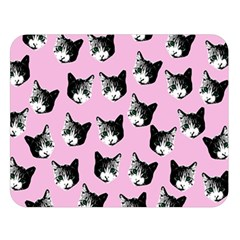 Cat Pattern Double Sided Flano Blanket (large)  by Valentinaart