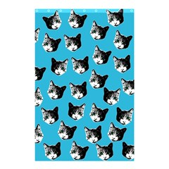Cat Pattern Shower Curtain 48  X 72  (small)  by Valentinaart