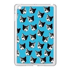 Cat Pattern Apple Ipad Mini Case (white)