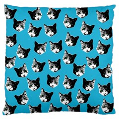 Cat Pattern Standard Flano Cushion Case (one Side)