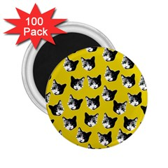 Cat Pattern 2 25  Magnets (100 Pack)