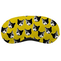 Cat Pattern Sleeping Masks by Valentinaart