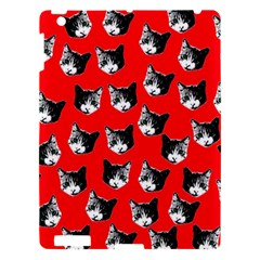Cat Pattern Apple Ipad 3/4 Hardshell Case by Valentinaart