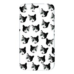 Cat Pattern Samsung Galaxy Mega I9200 Hardshell Back Case by Valentinaart