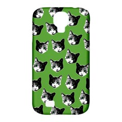 Cat Pattern Samsung Galaxy S4 Classic Hardshell Case (pc+silicone)