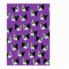 Cat Pattern Small Garden Flag (two Sides) by Valentinaart