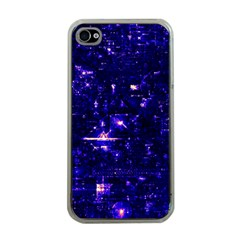 /r/place Indigo Apple Iphone 4 Case (clear)