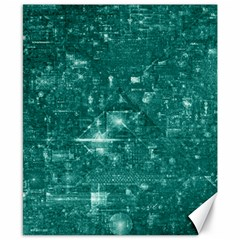/r/place Emerald Canvas 8  X 10  by rplace