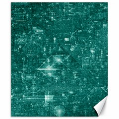 /r/place Emerald Canvas 20  X 24   by rplace