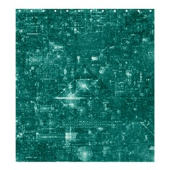 /r/place Emerald Shower Curtain 66  X 72  (large)  by rplace