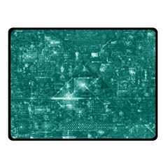 /r/place Emerald Fleece Blanket (small) by rplace