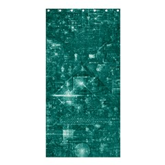 /r/place Emerald Shower Curtain 36  X 72  (stall)  by rplace
