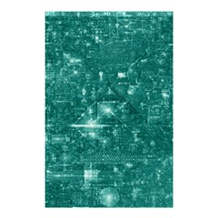 /r/place Emerald Shower Curtain 48  X 72  (small)  by rplace