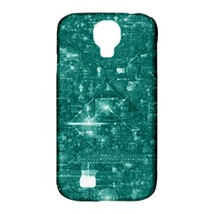 /r/place Emerald Samsung Galaxy S4 Classic Hardshell Case (pc+silicone) by rplace