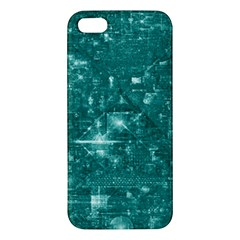 /r/place Emerald Iphone 5s/ Se Premium Hardshell Case