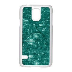 /r/place Emerald Samsung Galaxy S5 Case (white) by rplace
