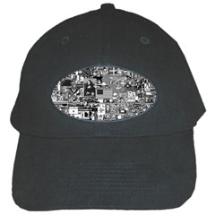 /r/place Retro Black Cap