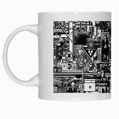 /r/place Retro White Mugs by rplace