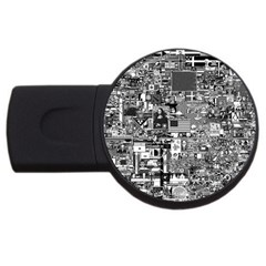 /r/place Retro Usb Flash Drive Round (2 Gb) by rplace