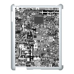 /r/place Retro Apple Ipad 3/4 Case (white) by rplace