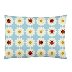 Ladybugs Pattern Pillow Case by linceazul