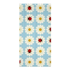 Ladybugs Pattern Shower Curtain 36  X 72  (stall)  by linceazul