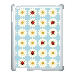 Ladybugs Pattern Apple Ipad 3/4 Case (white) by linceazul