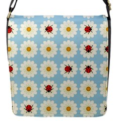 Ladybugs Pattern Flap Messenger Bag (s) by linceazul