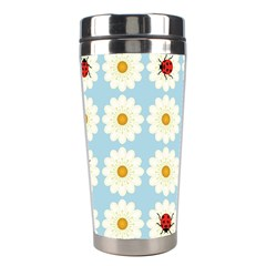 Ladybugs Pattern Stainless Steel Travel Tumblers by linceazul