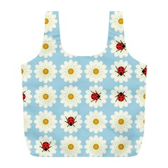 Ladybugs Pattern Full Print Recycle Bags (l)  by linceazul