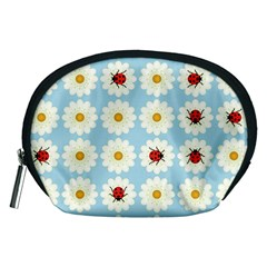 Ladybugs Pattern Accessory Pouches (medium)  by linceazul